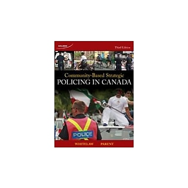 Community-Based Strategic Policing in Canada, Used Book (9780176500184)