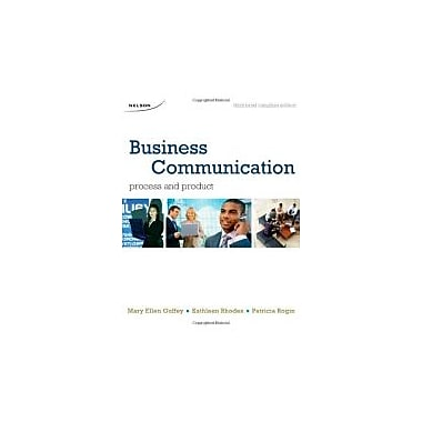Business Communication Process & Product, New Book (9780176500467)