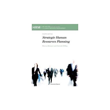 CND ED Strategic Human Resource Planning, New Book (9780176501327)