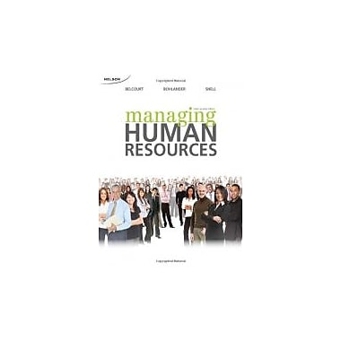 CND ED Managing Human Resources, New Book (9780176501785)