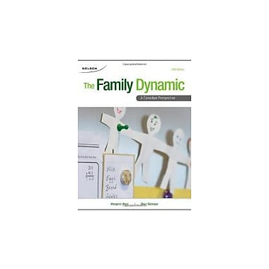 FAMILY DYNAMIC:CANADIAN PERSPECTIVE, New Book (9780176502003)