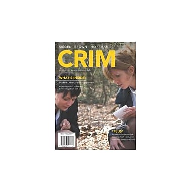Crim, New Book (9780176504441)