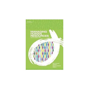 Managing Human Resources [Paperback], Used Book (9780176506902)