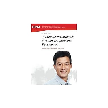 Managing Performance through Training and Development (Nelson educational Series)