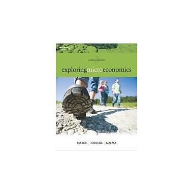 Exploring Microeconomics, New Book (9780176509774)