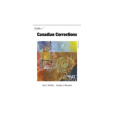Canadian Corrections, New Book (9780176529215)