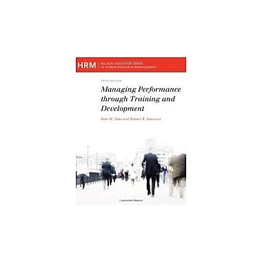 Managing Performance Through T D 5e 2nd, Used Book (9780176616229)
