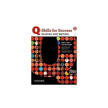 Q: Skills for Success 5 Reading & Writing Student Book with Student Access Code Card, Used Book (9780194756426)