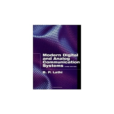Modern Digital and Analog Communication Systems (Oxford Series in Electrical and Computer Engineering), New Book (9780195110098)