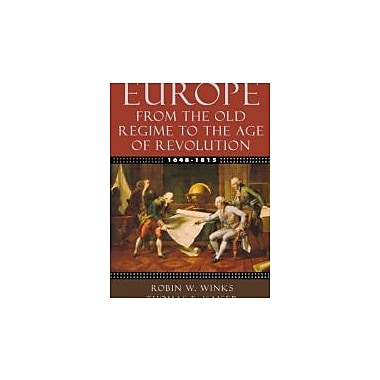 Europe, 1648-1815: From the Old Regime to the Age of Revolution, New Book (9780195154467)