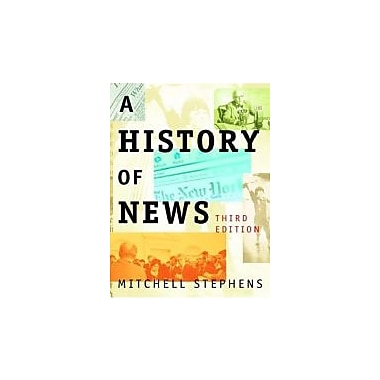 A History of News, New Book (9780195189919)