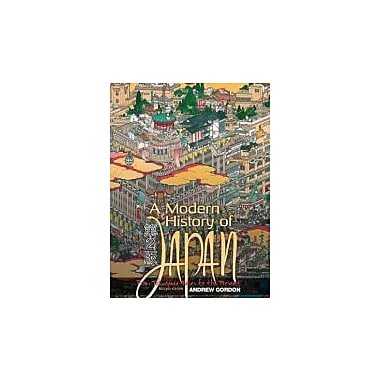 A Modern History of Japan: From Tokugawa Times to the Present, 2nd Edition, New Book (9780195339222)