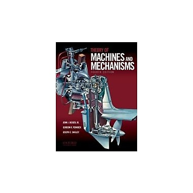 Theory of Machines and Mechanisms, New Book (9780195371239)