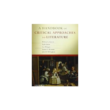 A Handbook of Critical Approaches to Literature, New Book (9780195394726)