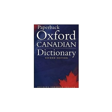 Paperback Oxford Canadian Dictionary Second Edition (second Edition), Used Book (9780195424393)