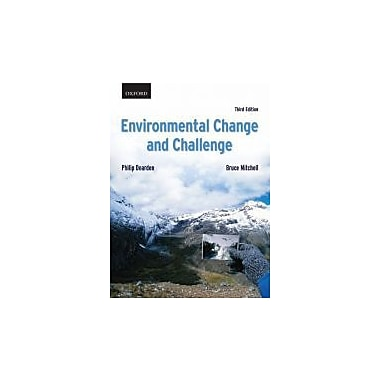 Environmental Change and Challenge: A Canadian Perspective, New Book (9780195428650)