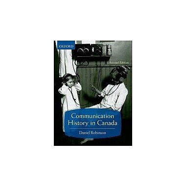 Communication History in Canada, New Book (9780195430189)