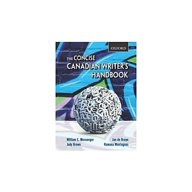 The Concise Canadian Writer's Handbook, Used Book (9780195430387)