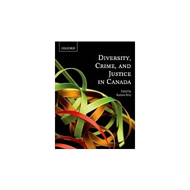 Diversity, Crime, and Justice in Canada, Used Book (9780195432336)