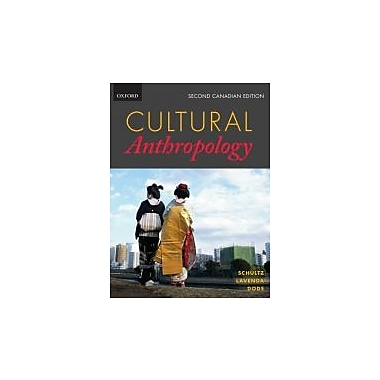 Cultural Anthropology (Second Canadian Edition), New Book (9780195442786)