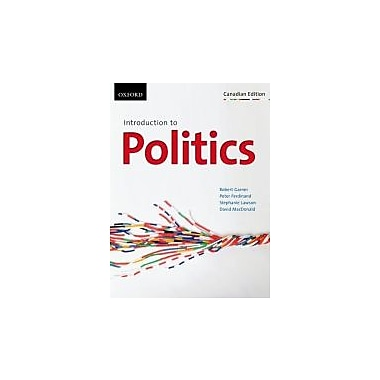 Introduction to Politics: First Canadian Edition, New Book (9780195443035)