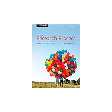 Research Process Second Canadian Edition, New Book (9780195445381)