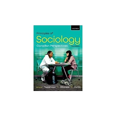 Principles of Sociology: Canadian Perspectives (195446666)