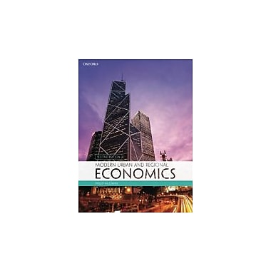 Modern Urban and Regional Economics, Used Book (9780199582006)