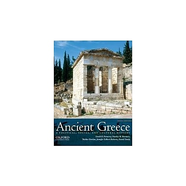 Ancient Greece: A Political, Social, and Cultural History, 3rd Edition, New Book (9780199846047)