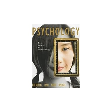 Psychology: From Inquiry to Understanding (paperback) (2nd Edition), New Book (9780205001606)