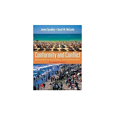 Conformity & Conflict: Readings in Cultural Anthropology Plus MyAnthroLab w/eText Access Card Package, New (9780205176014)