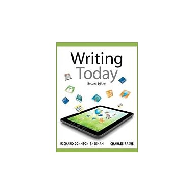 Writing Today (2nd Edition), Used Book (9780205210084)