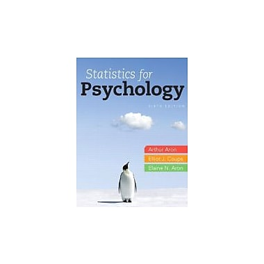 Statistics for Psychology, 6th Edition, New Book (9780205258154)