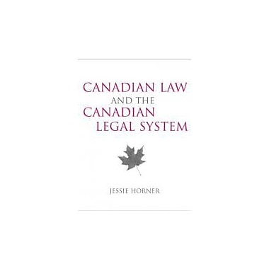 Canadian Law and the Canadian Legal System, Used Book (9780205445561)