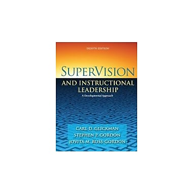 SuperVision and Instructional Leadership: A Developmental Approach (8th Edition), Used Book (9780205625031)