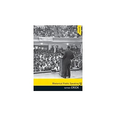 Rhetorical Public Speaking, Used Book (9780205665587)