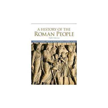 A History of the Roman People (5th Edition), New Book (9780205695263)