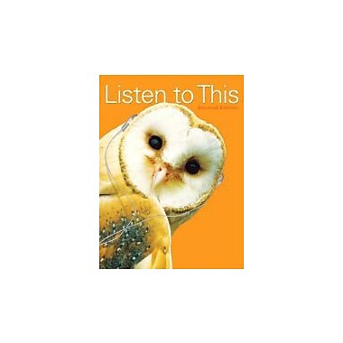 Listen to This (2nd Edition), New Book (9780205777365)