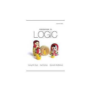 Introduction to Logic (14th Edition), New Book (9780205820375)