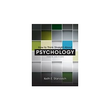 How to Think Straight About Psychology (10th Edition), Used Book (9780205914128)