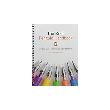 The Brief Penguin Handbook, Third Canadian Edition with MyCanadianCompLab (3rd Edition), Used Book (9780205937523)