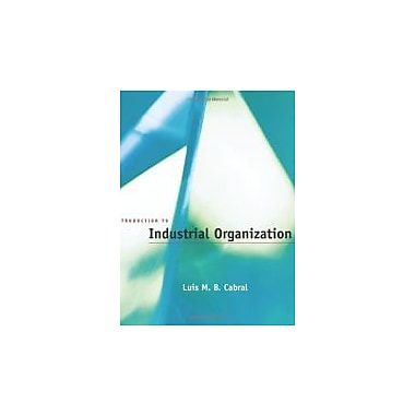 Introduction to Industrial Organization, Used Book (9780262032865)
