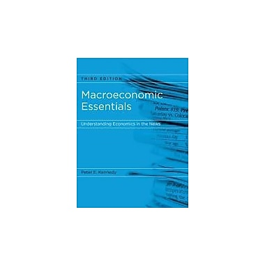 Macroeconomic Essentials: Understanding Economics in the News, Used Book (9780262514804)