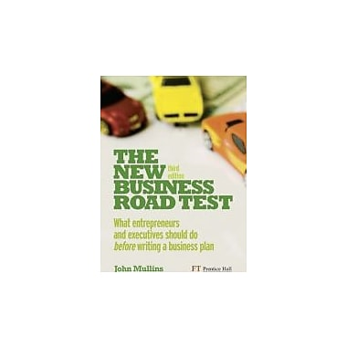 The New Business Road Test: What Entrepreneurs & Executives Should Do Before Writing A Business Plan, Used (9780273732792)