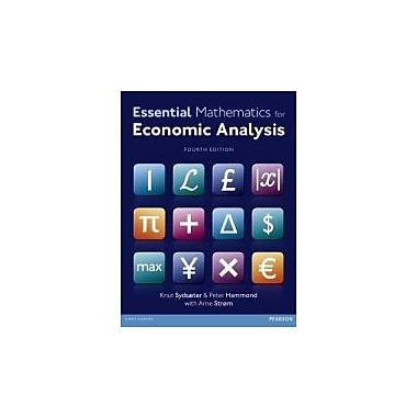 Essential Mathematics for Economic Analysis (4th Edition), New Book (9780273760689)