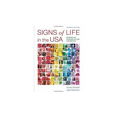 Signs of Life in the USA: Readings on Popular Culture for Writers, Used Book (9780312647001)