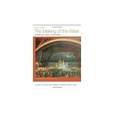 The Making of the West, Volume II: Since 1500: Peoples and Cultures, Used Book (9780312672713)