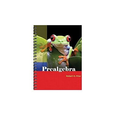 Prealgebra, New Book (9780321213785)
