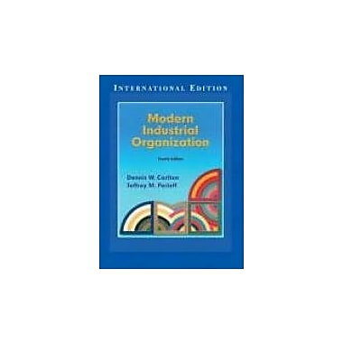 Modern Industrial Organization (International Edition), Used Book (9780321223418)