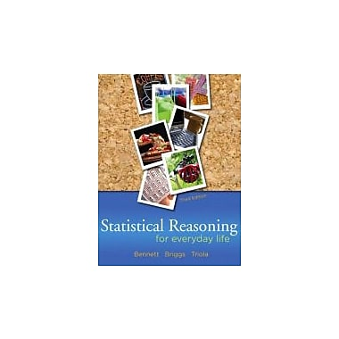 Statistical Reasoning for Everyday Life (3rd Edition), Used Book (9780321286727)
